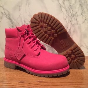 """Timberland Youth 6"""" Premium AUTHENTIC A1J8M Boot"""